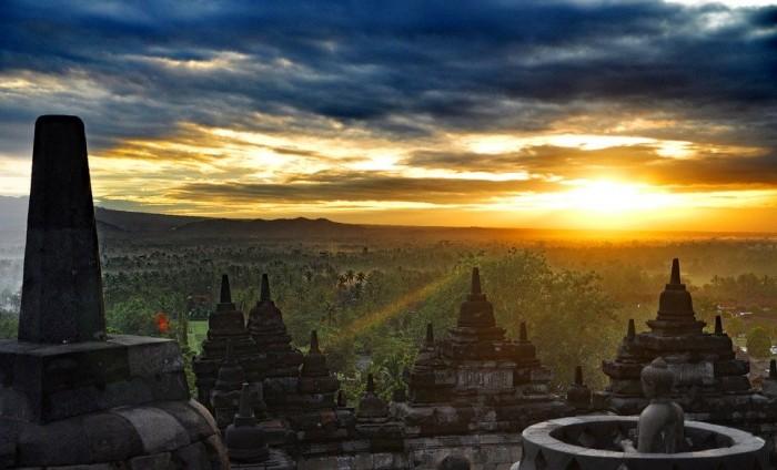 Borobudur(ボロブドゥール遺跡)