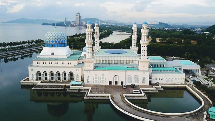 Kota Kinababalu City Mosque(コタキナバル市立モスク)