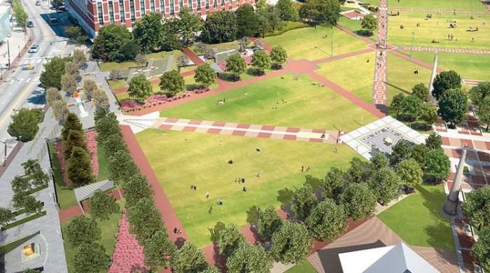 Centennial Olympic Park(センテニアル・オリンピック・パーク)