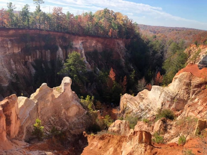 Providence Canyon State Park(プロビデンス・キャニオン州立公園)