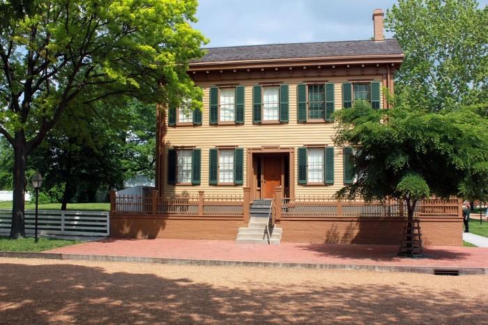Lincoln Home(リンカーンの家)