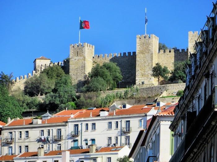 Castelo de Sao Jorge(サン・ジョルジェ城)