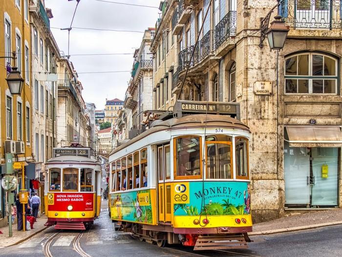 Elétricos de Lisboa(リスボンのトラム(路面電車))