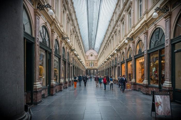 Galeries Royales Saint Hubert(ギャルリー・サンチュベール)
