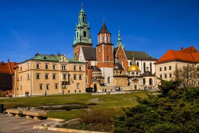 Zamek Królewski na Wawelu(ヴァヴェル城)