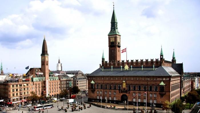 Rådhuspladsen(市庁舎前広場)