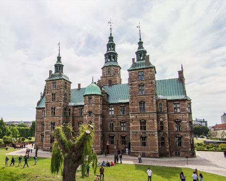 Rosenborg Slot(ローゼンボー離宮)