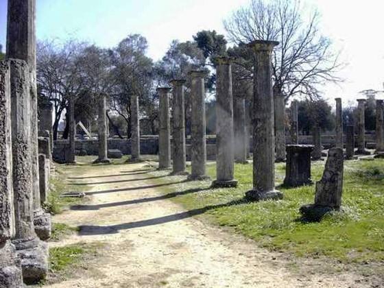 Αρχαιολογικός Χώρος Ολυμπίας(オリンピア古代遺跡)