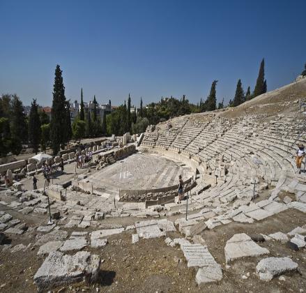 Θέατρο του Διονύσου(ディオニソス劇場)
