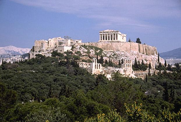 Ακρόπολη Αθηνών(アクロポリス遺跡)