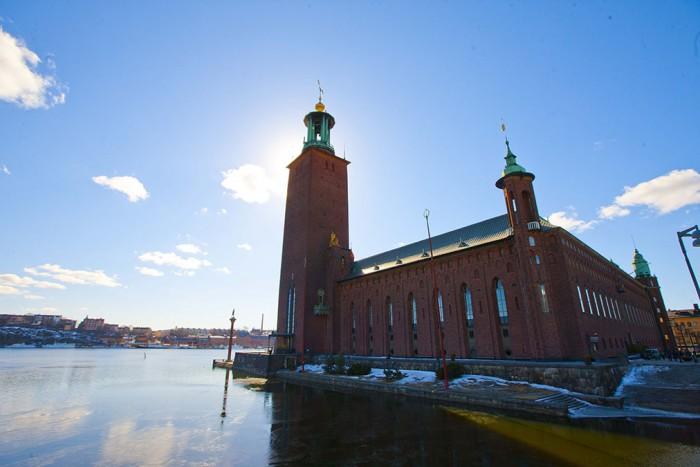 Stockholms stadshus(ストックホルム市庁舎)