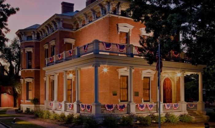 Benjamin Harrison Presidential Site(ベンジャミン・ハリソン大統領の家)
