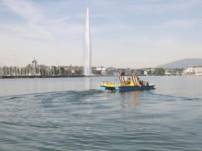 Genève and Lac Léman(ジュネーブとレマン湖)