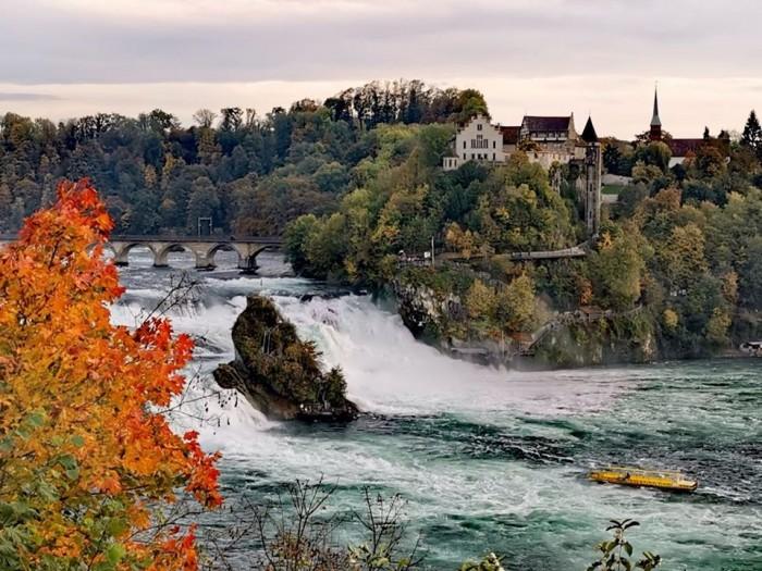 Rheinfall(ラインの滝)