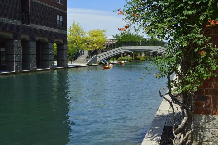 Canal Walk(セントラルカナール)
