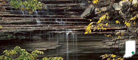 Clifty Falls State Park(クリフティフォールズ州立公園)
