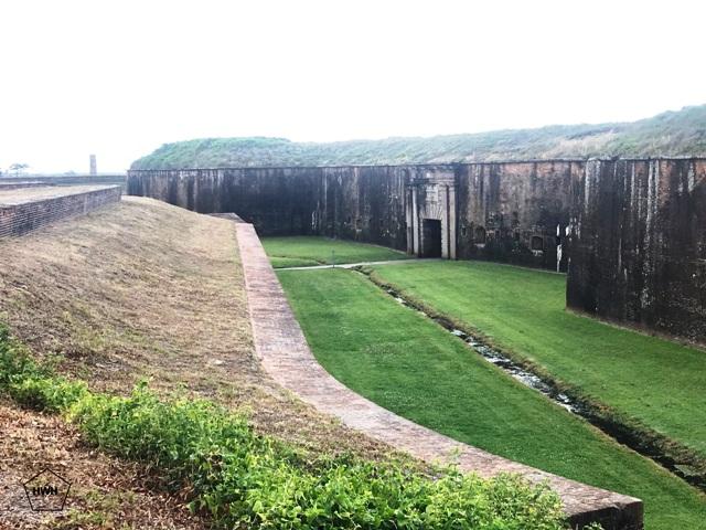 Fort Morgan State Historic Site(フォートモーガンステイトヒストリックサイト)