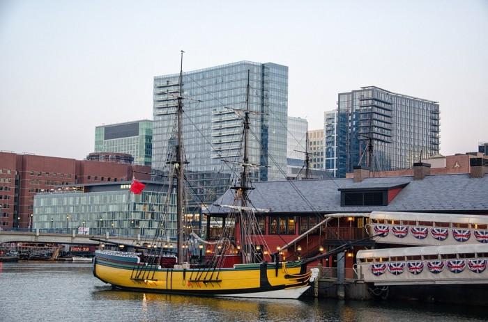Boston Tea Party Ships & Museum(ボストン茶会事件船と博物館)