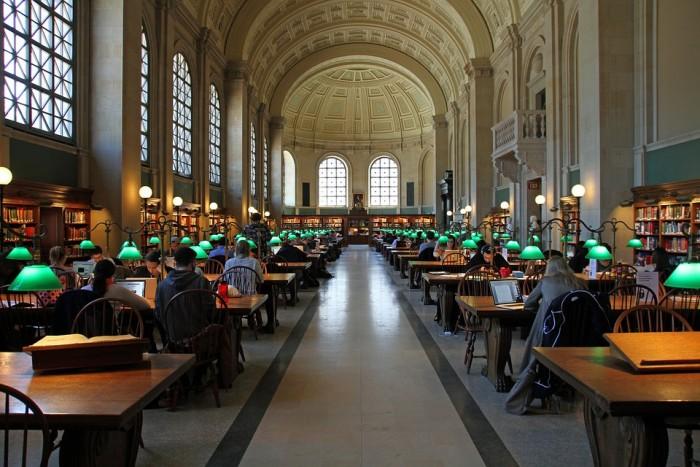 Boston Public Library(ボストン公共図書館)