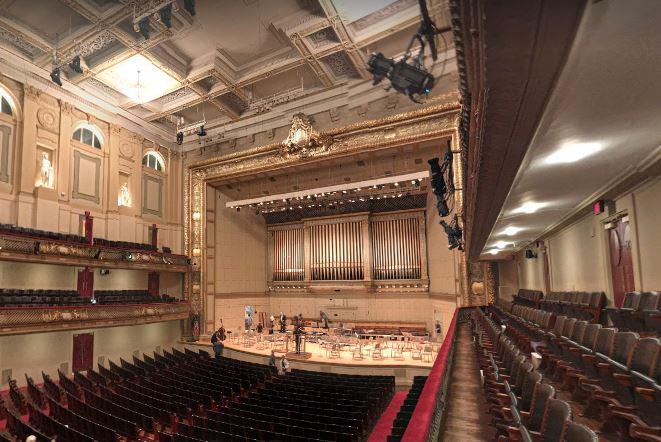 Symphony Hall(ボストン・シンフォニーホール)