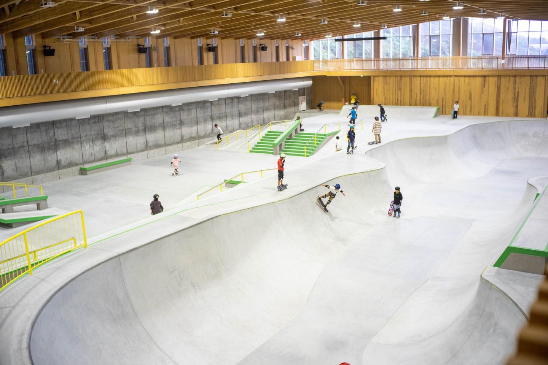 村上市スケートパーク