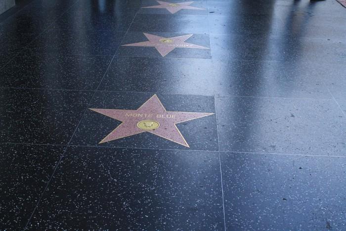 Hollywood Walk of Fame(ハリウッド・ウォーク・オブ・フェーム)
