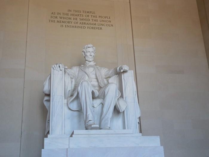 Lincoln Memorial(リンカーン記念堂)
