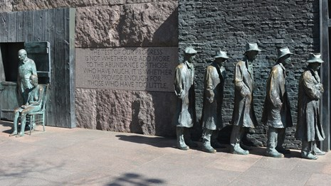 Franklin Delano Roosevelt Memorial(フランクリン・デラノ・ルーズベルト記念碑)