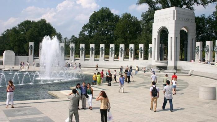 World War II Memorial(第二次世界大戦記念碑)