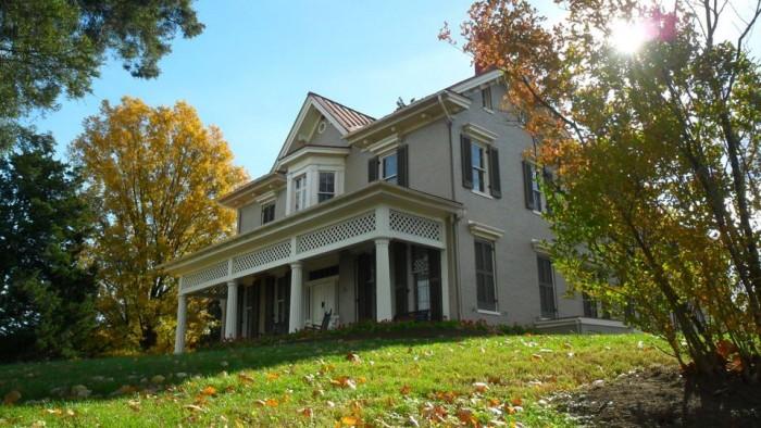 Frederick Douglass National Historic Site(フレデリック・ダグラスの国立史跡)