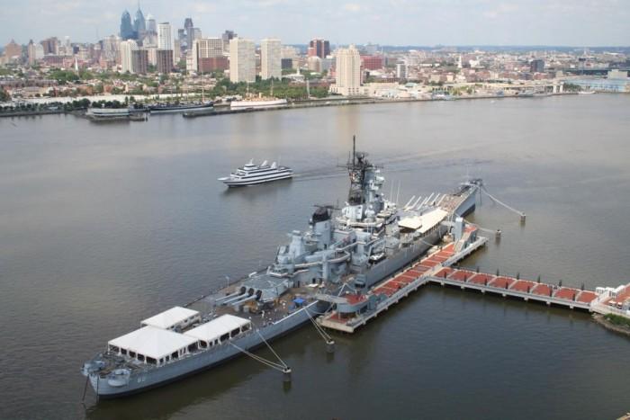 Battleship New Jersey(戦艦ニュージャージーミュージアム)