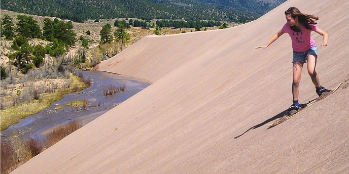 Great Sand Dunes National Park and Preserve(グレートサンドデューンズ国立公園)