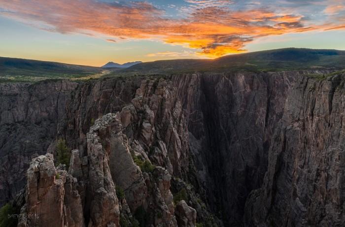 Black Canyon of the Gunnison National Park(ブラックキャニオン国立公園)