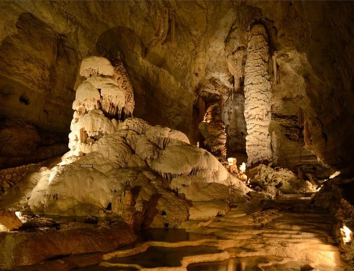 Natural Bridge Caverns(ナチュラル・ブリッジ・キャバーンズ)