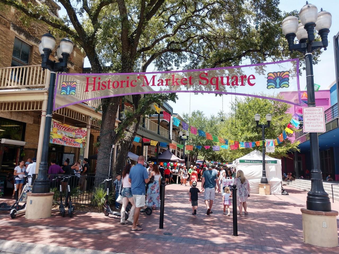 Historic Market Square(ヒストリック・マーケット・スクエア)