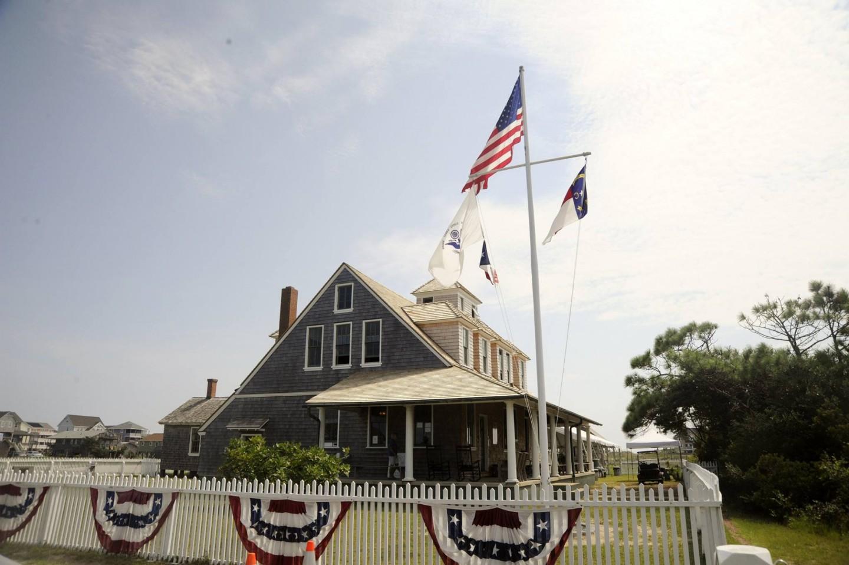 Chicamacomico Life-Saving Station Historic Site(チカマコミコ・ライフガード・ステーション)