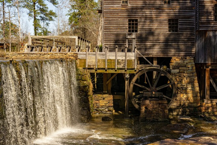 Historic Yates Mill County Park(ヒストリック・イエーツ・ミル郡立公園)