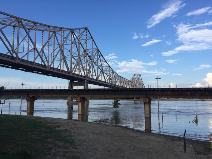 Old Chain of Rocks Bridge(チェーン・オブ・ロックス橋)